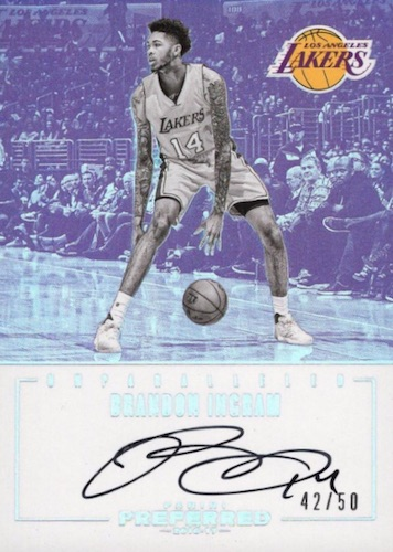 2016-17 Panini Preferred Basketball Cards 24