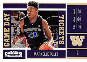 2017-18 Panini Contenders Draft Picks Basketball