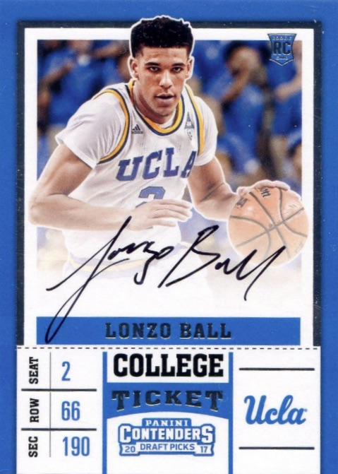 Top Lonzo Ball Rookie Cards 3