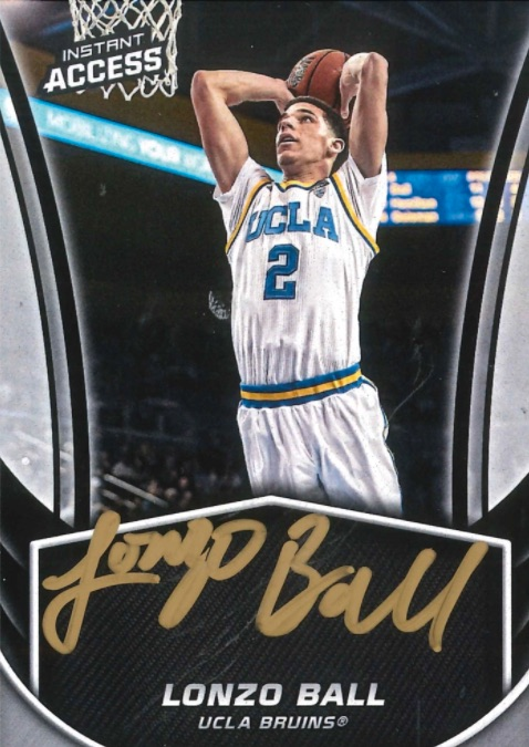 Top Lonzo Ball Rookie Cards 10