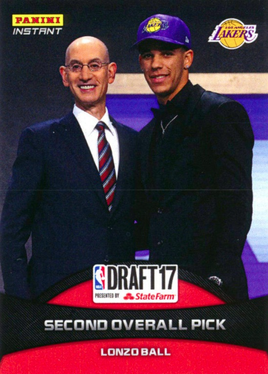 Big Baller or Bust! Top Lonzo Ball Rookie Cards 8
