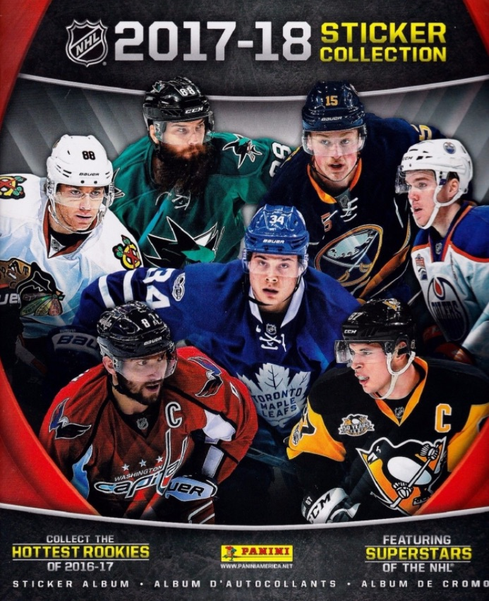2017-18 Panini NHL Sticker Collection 3