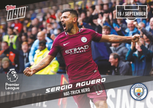 2017-18 Topps Now Premier League Soccer Cards 6