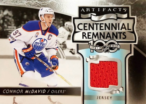 2017-18 Upper Deck Artifacts Hockey Cards - Rookie Redemption List Added 29
