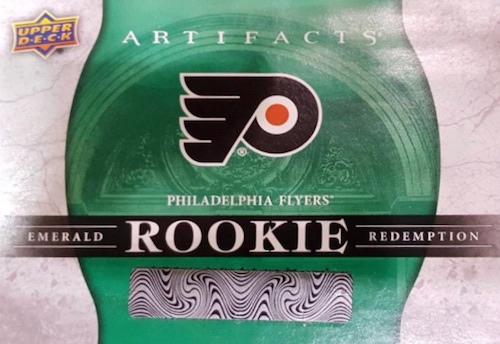 2017-18 Upper Deck Artifacts Hockey Cards - Rookie Redemption List Added 3