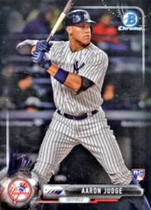 Aaron Judge Rookie Cards Checklist and Key Prospects 3