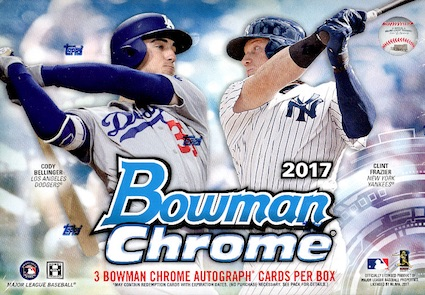 2017 Bowman Chrome Baseball