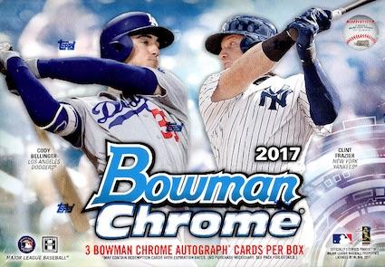 2017 Bowman Chrome Baseball Cards 49