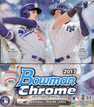 2017 Bowman Chrome Baseball Cards 38