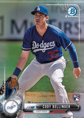 Top Cody Bellinger Rookie Cards and Key Prospect Cards 1