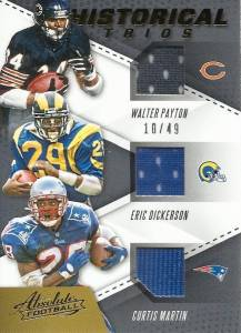 2017 Panini Absolute Football Cards 34