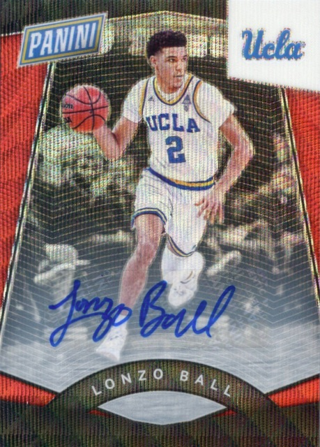 Top Lonzo Ball Rookie Cards 13