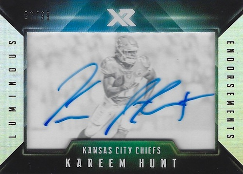 2017 Panini XR Football Cards 1