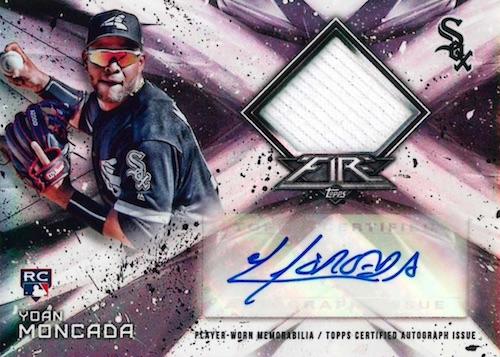 2017 Topps Fire Baseball Cards 4
