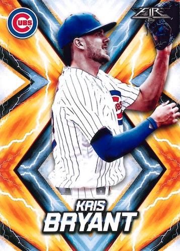 2017 Topps Fire Baseball Cards 3