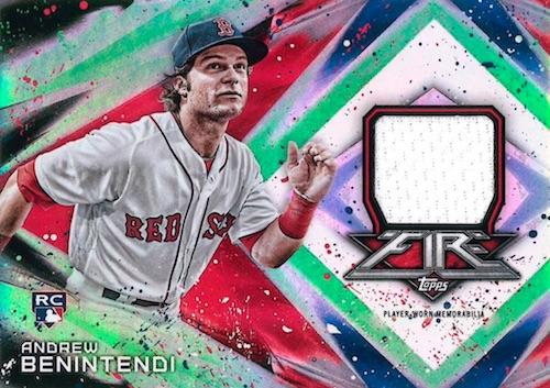 2017 Topps Fire Baseball Cards 27