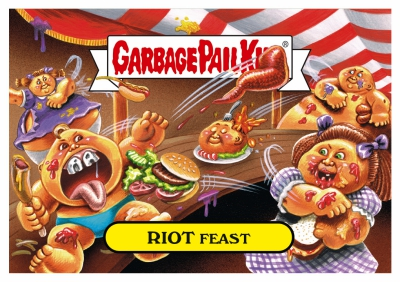2017 Topps Garbage Pail Kids Riot Fest Trading Cards 21