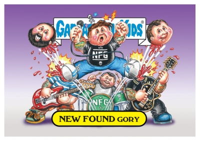 2017 Topps Garbage Pail Kids Riot Fest Trading Cards 12