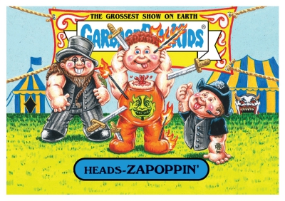 2017 Topps Garbage Pail Kids Riot Fest Trading Cards 19