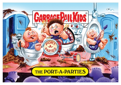 2017 Topps Garbage Pail Kids Riot Fest Trading Cards 20