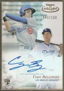 Top Cody Bellinger Rookie Cards and Key Prospect Cards 27