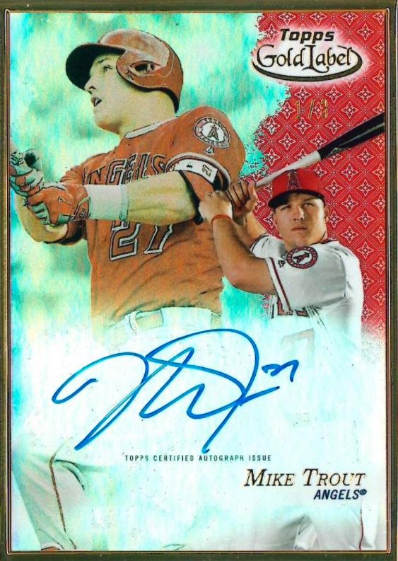 2017 Topps Gold Label Baseball Cards 3