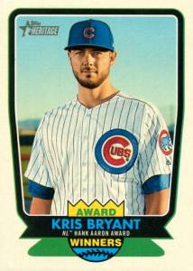 2017 Topps Heritage High Number Baseball Cards 28