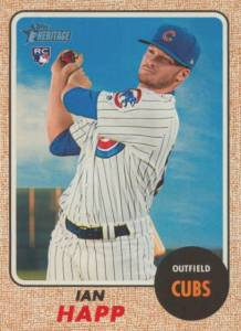 2017 Topps Heritage High Number Baseball Variations Guide 78