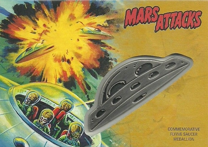 2017 Topps Mars Attacks The Revenge Set Trading Cards 23