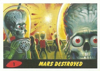 2017 Topps Mars Attacks The Revenge Set Trading Cards 3