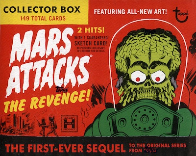 2017 Topps Mars Attacks The Revenge Set Trading Cards 25