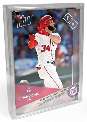 2017 Topps Now Baseball Postseason Cards 1
