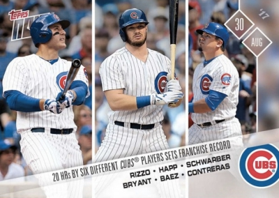 2017 Topps Now Baseball Cards 61