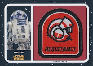 2017 Topps Star Wars Journey to The Last Jedi Trading Cards 25