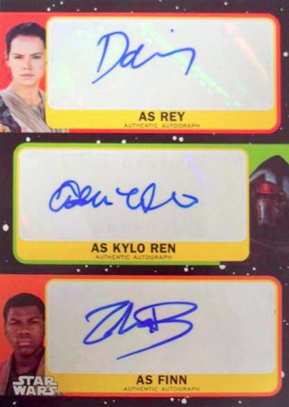 2017 Topps Star Wars Journey to The Last Jedi Trading Cards 3