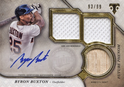 2017 Topps Triple Threads Baseball Cards 23