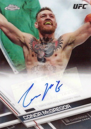 2017 Topps UFC Chrome MMA Cards 1