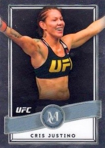 2017 Topps UFC Chrome MMA Cards 23