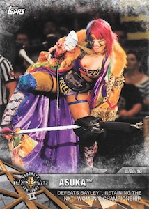 2017 Topps WWE Women's Division Wrestling Cards 21