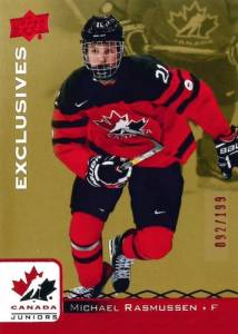 2017 Upper Deck Team Canada Juniors Hockey Cards 21
