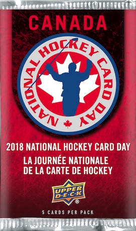 2018 Upper Deck National Hockey Card Day Trading Cards 2