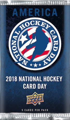 2018 Upper Deck National Hockey Card Day Trading Cards 1