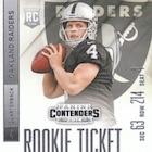 Derek Carr Rookie Card Gallery and Checklist