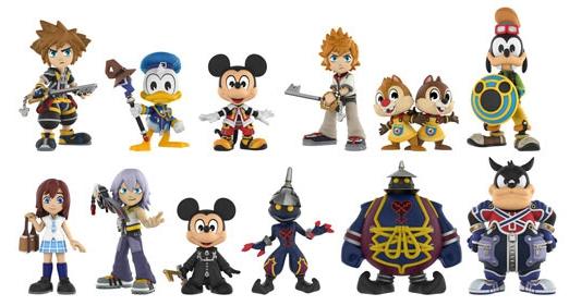 2017 Funko Kingdom Hearts Mystery Minis 2