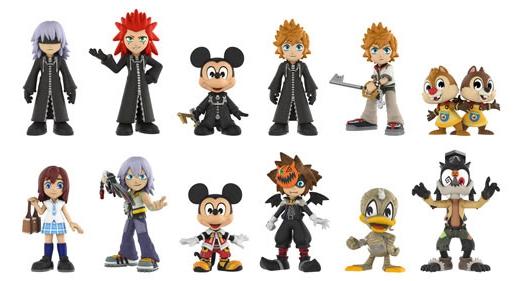 2017 Funko Kingdom Hearts Mystery Minis 3