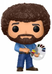2017 Funko Pop Bob Ross Vinyl Figures 1