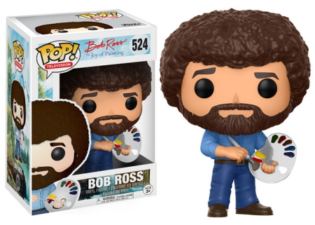 2017 Funko Pop Bob Ross Vinyl Figures 21