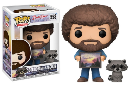 2017 Funko Pop Bob Ross Vinyl Figures 23