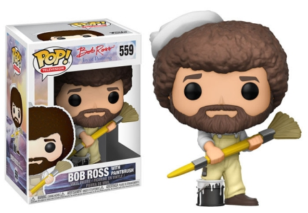 2017 Funko Pop Bob Ross Vinyl Figures 24