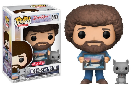 2017 Funko Pop Bob Ross Vinyl Figures 25